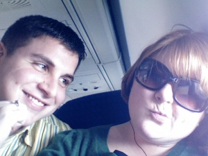 The plane ride